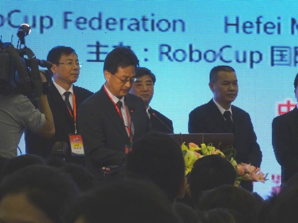 Opening ceremony - Itsuki Noda (president of the RoboCup federation)