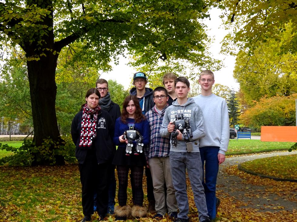 Gruppenbild mit Teilnehmern
