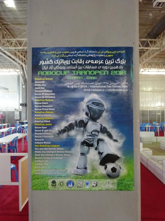 IranOpen 2016 Poster