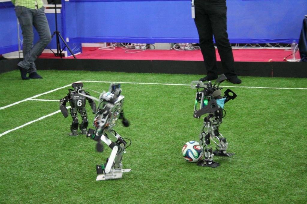 Match Fumanoids vs. Hamburg Bit-Bots
