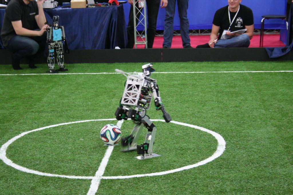 Minibot playing