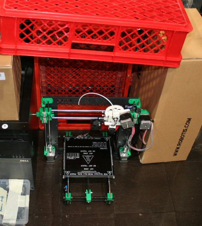 3D printer sheltered